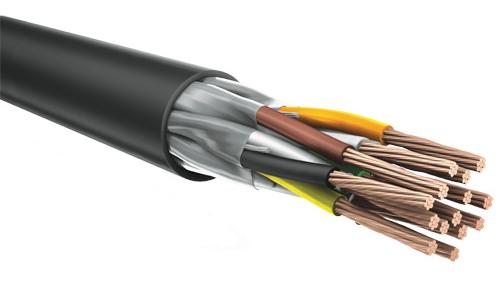Кабель монтажный экранированный для передачи данных в промышленной сети по интерфейсу RS-485