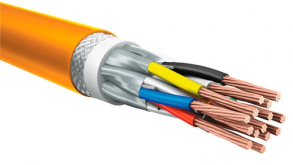 Монтажный кабель КуПе ИЭКнг 1х2х1.5 с проволочной броней и экранированными парами типа STP для промышленной автоматики