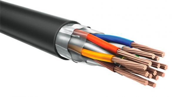 Огнестойкий кабель КуПе-ОЭнг а frls 2х2х1.0 с общим экраном типа FTP для пожарной сигнализации
