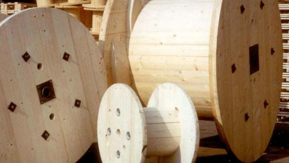 Посмотреть Габариты и массу деревянных барабанов