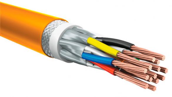 Монтажный кабель КуПе ИЭКнг с проволочной броней и экранированными парами  для промышленной автоматики