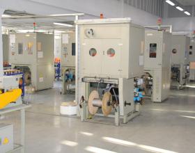 Наложение экрана при изготовлении монтажного кабеля Инсил производства НПП Интех в Софрино